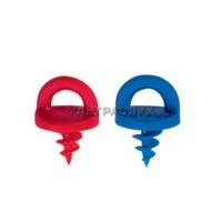 Набор рукояток для силиконовых вкладышей (5 красных + 5 синих)