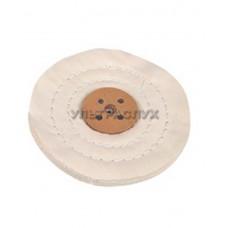 Полировальный круг с кожаным центром Ø 100 мм