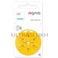 Батарейка Varta Signia для слухового аппарата, размер 10