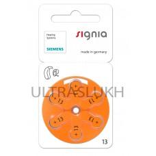 Батарейка Varta Signia для слухового аппарата, размер 13