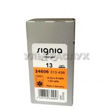 Батарейки для слухового аппарата, тип 13
