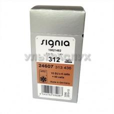 Батарейки для слухового аппарата, тип 312