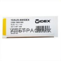 Батарейки Widex для слухового аппарата, тип 10