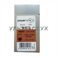 Батарейки Powerone для слухового аппарата, тип 312