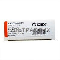 Батарейки Widex для слухового аппарата, тип 13
